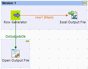 How to open a file with a system default application in Talend Studio