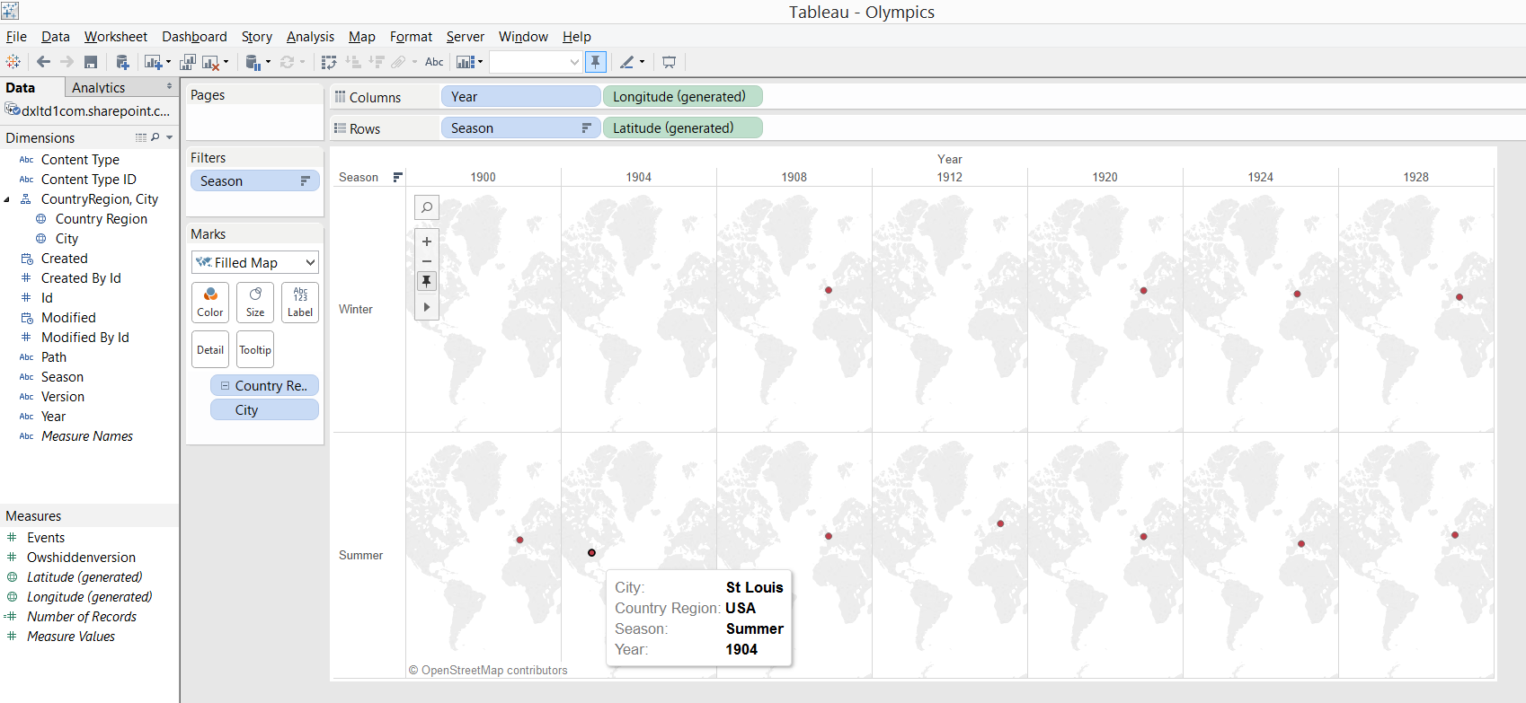 How to Connect Tableau to a SharePoint List